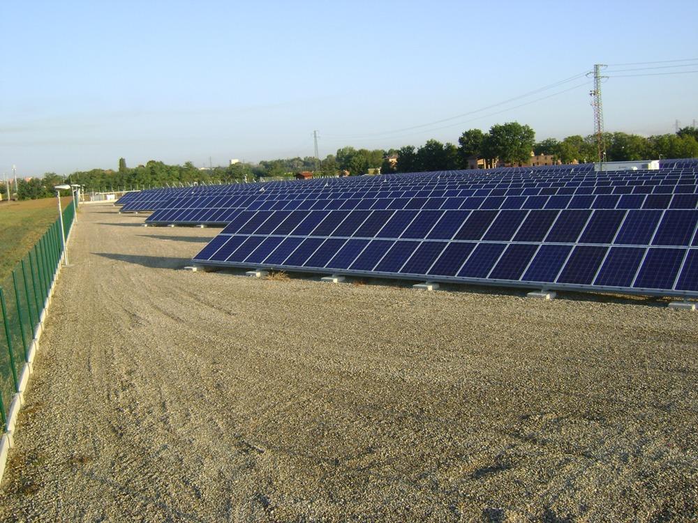 Centrale impianto fotovoltaico