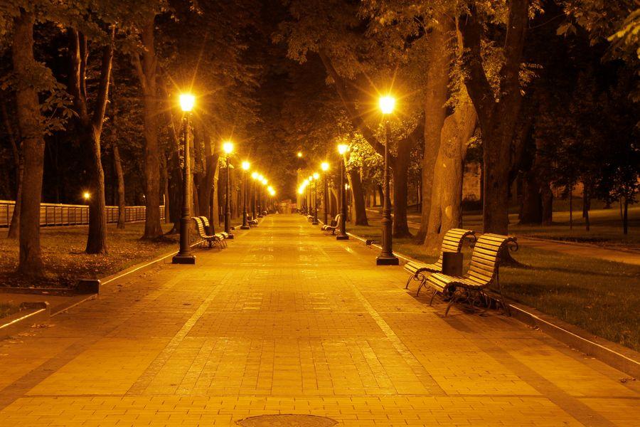 Illuminazione parco