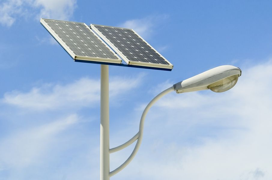 Fotovoltaico e illuminazione pubblica