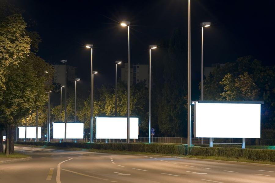 Pubblica illuminazione su strada